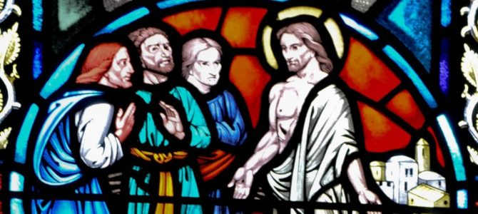 Vi er vidner om opstandelsen