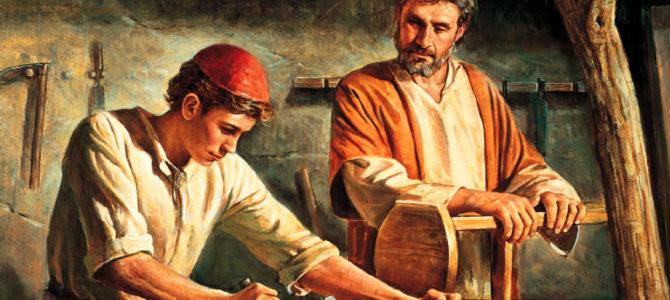 Sankt Josef, arbejderen