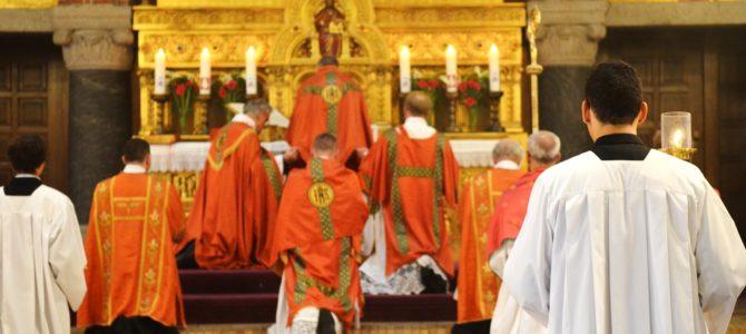 Pontifikalmesse og Firmelse 25/6 2016