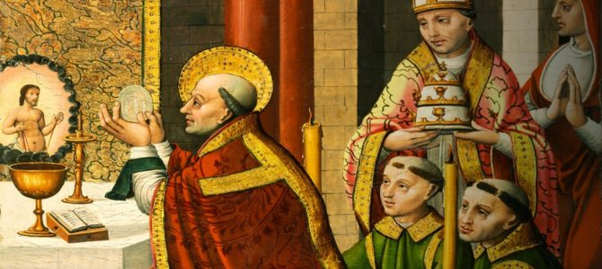 Kardinal Müller i Le Barroux